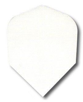 Darts flights nylon white std