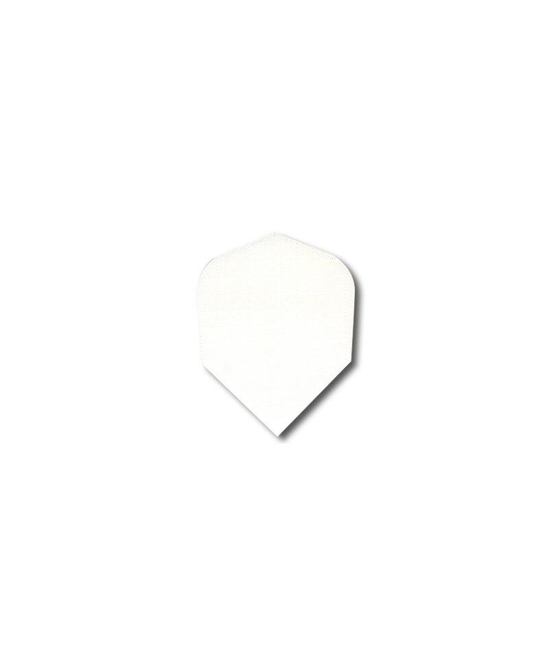 Aleta dardos nilón blanca DBB std