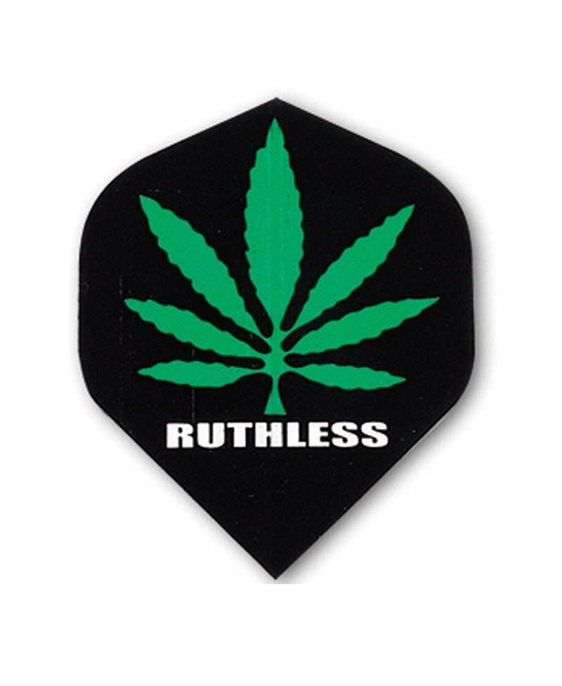 Aleta Ruthless 11 std negra marihuana