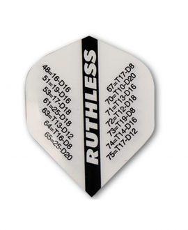 Aleta Ruthless 12 std blanca terminaciones