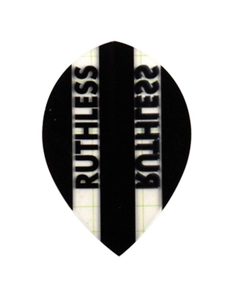 Aleta Ruthless 01 oval negra
