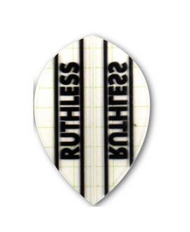 Aleta dardos Ruthless 09 oval  transparente