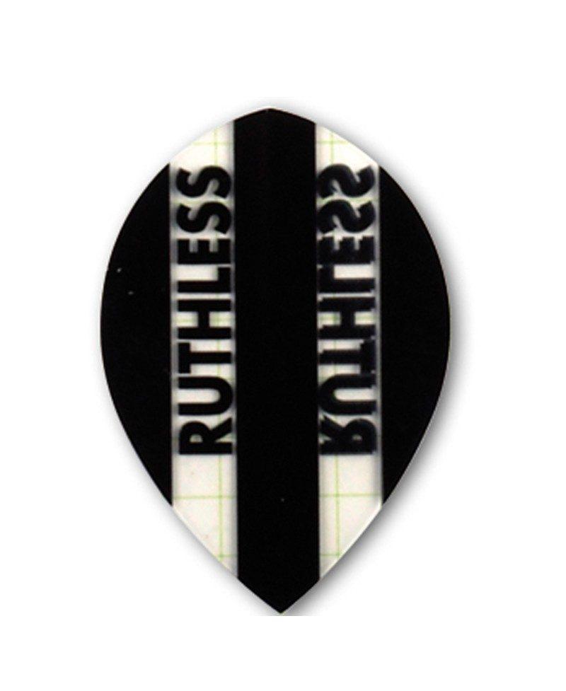 Aleta dardos Ruthless 10 oval negra