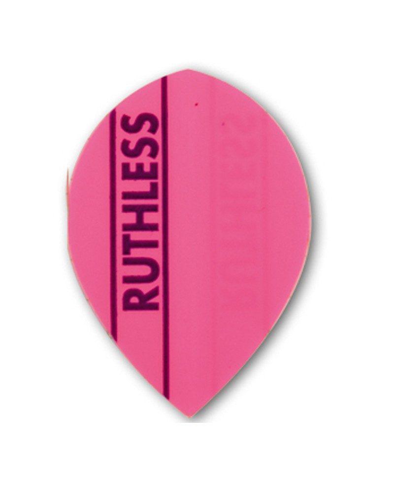 Aleta dardos Ruthless 11 oval rosa