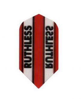 Aleta dardos Ruthless 02 slim roja