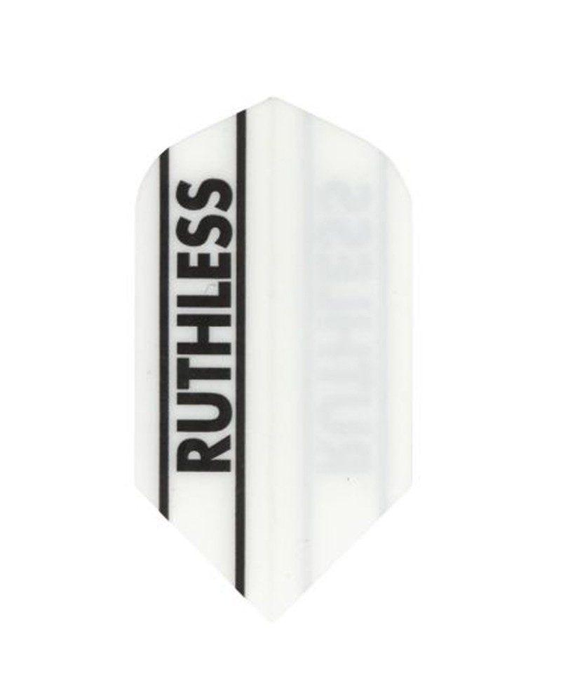 Aleta dardos Ruthless 01 slim blanca