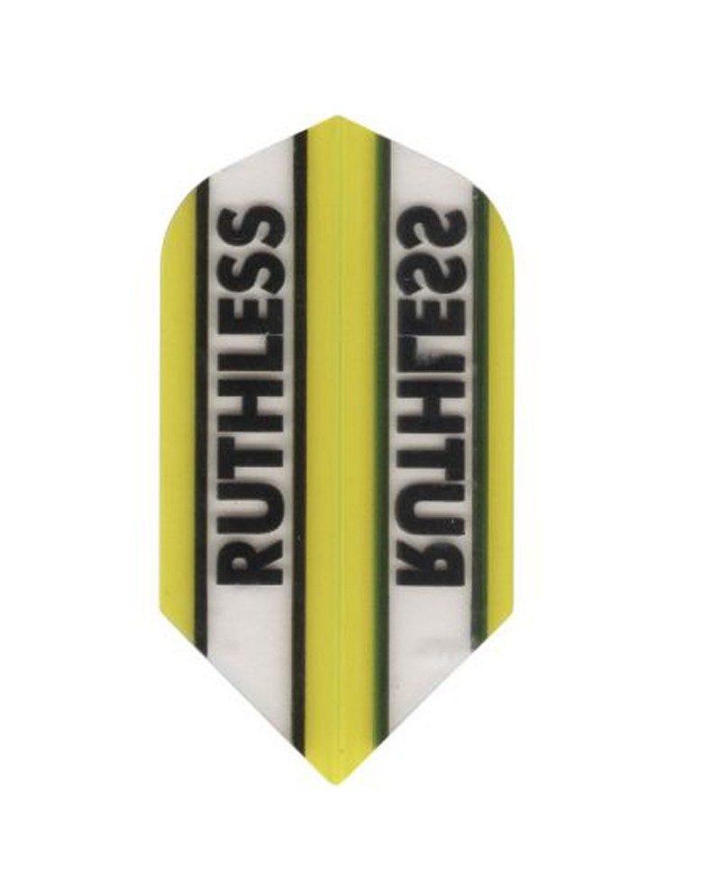 Aleta dardos Ruthless 17 slim  amarilla