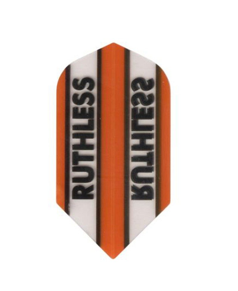 Aleta dardos Ruthless 19 slim naranja