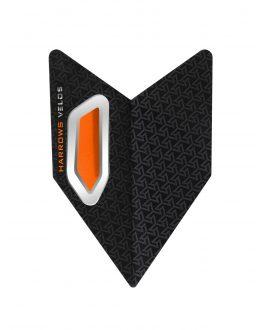 Aletas Harrows darts Velos 1004 naranja