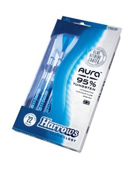 Dardos Harrows darts Aura 95% punta acero