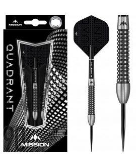 Dardos Mission Quadrant M3  90% punta acero