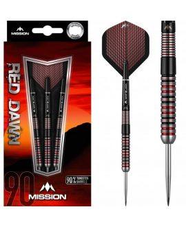 Dardos Mission Red Dawn 90% punta acero