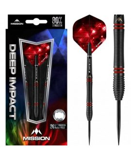 Dardos Mission Deep Impact 90% punta acero