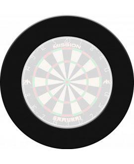 Dartboard Protector Mission darts black