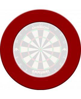 Protector Diana punta acero Mission darts roja