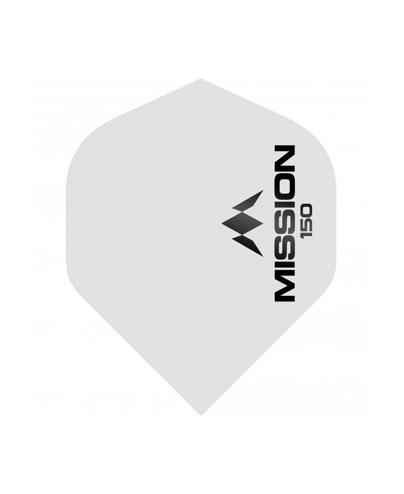 Aleta Mission darts 150 std blanca