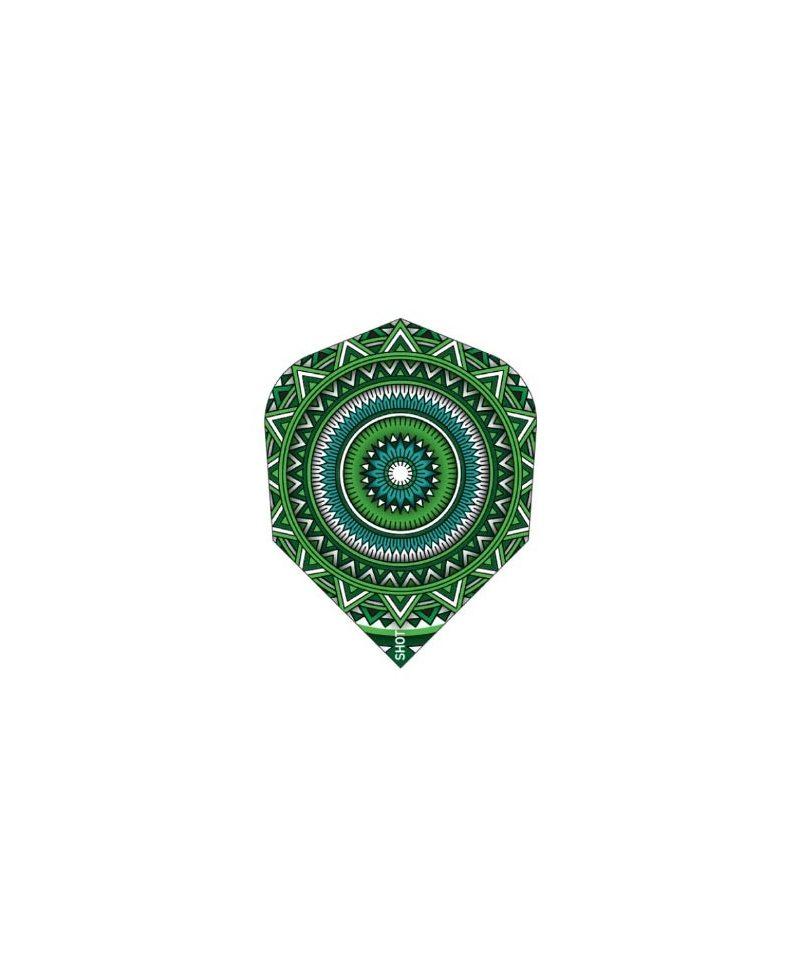 Aletas dardos Shot Mandala darts