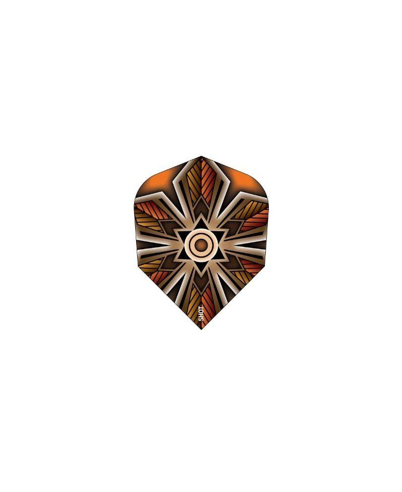 Aletas dardos Shot Talisman Amber darts