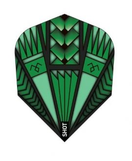 Aletas Shot  Armour green darts