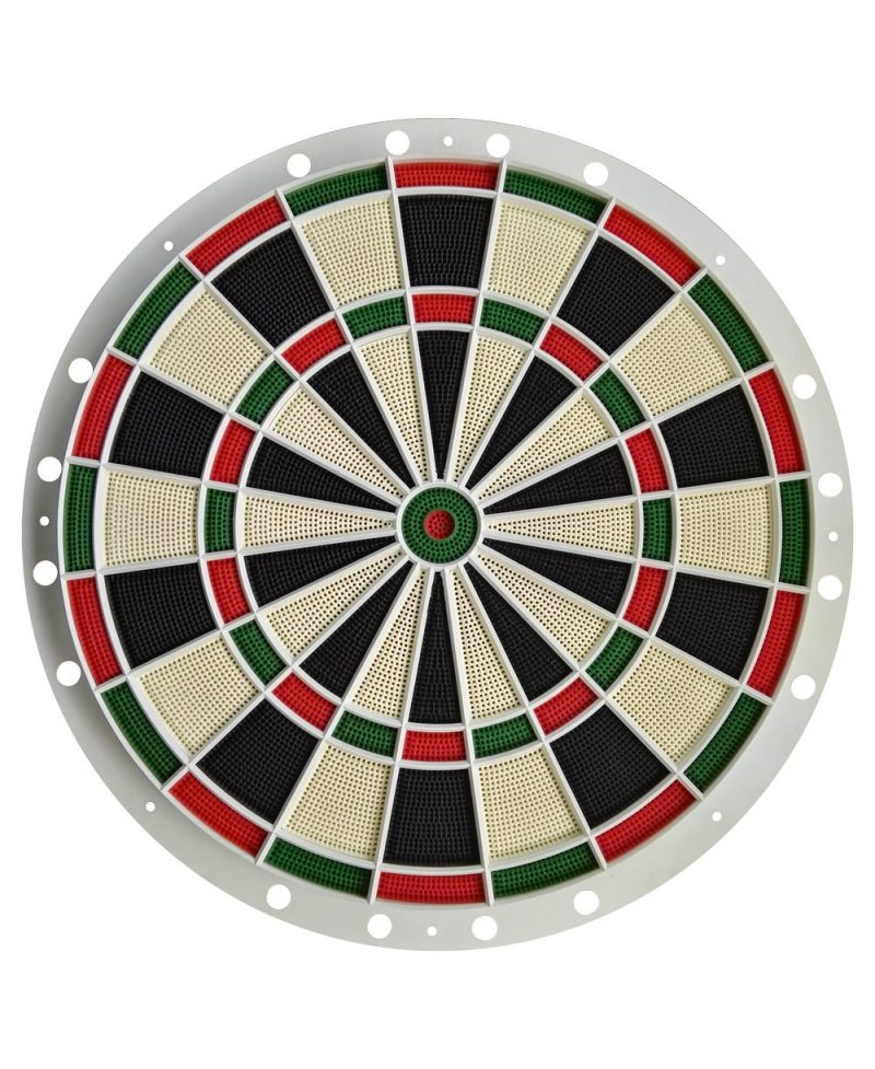 Parrilla  con segmentos diana Hi darts