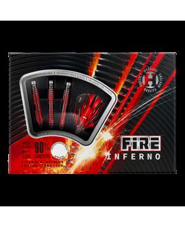 Dardos Harrows Fire Inferno 90% punta acero