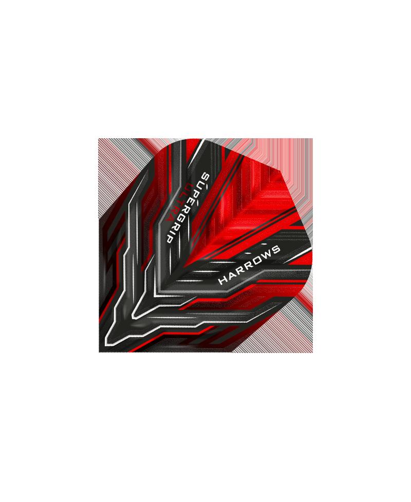 Aleta Harrows darts Supergrip Ultra 3500 roja