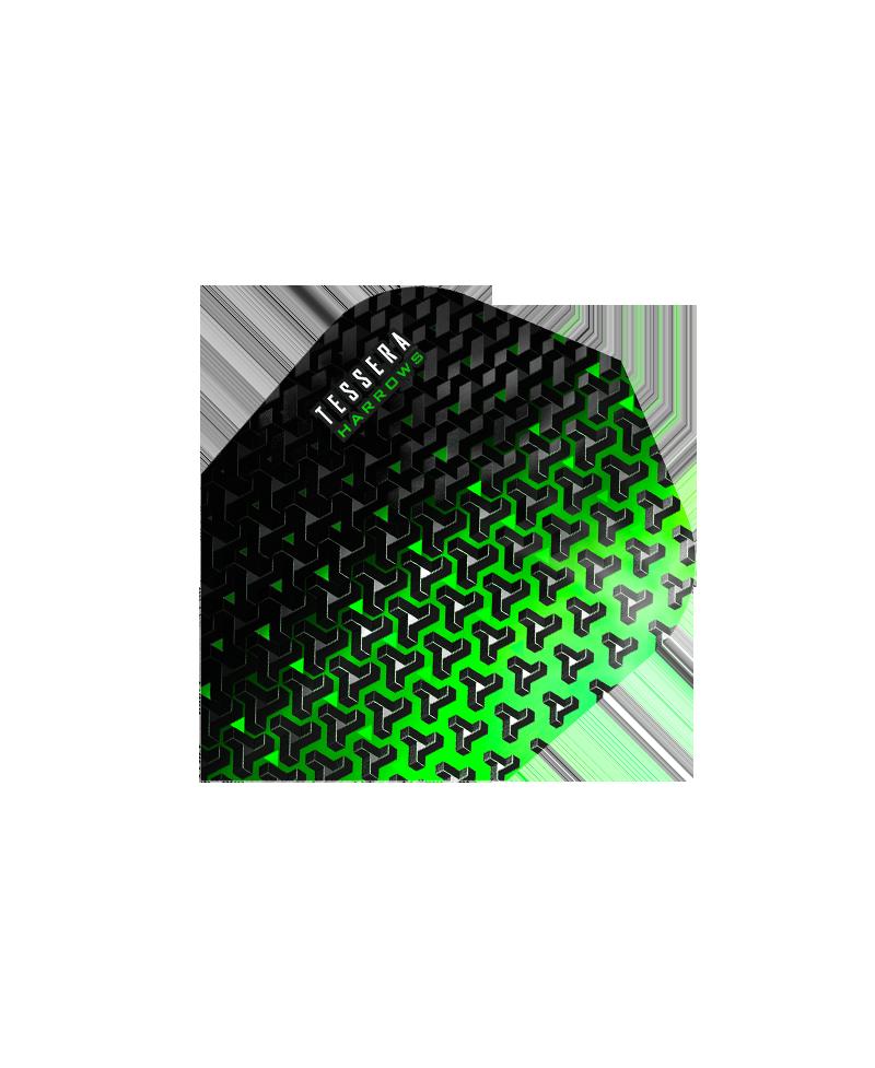 Aletas Harrows darts Tessera 5701 verde