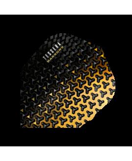 Aletas Harrows darts Tessera 5702 amarilla
