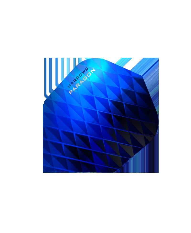 Aleta Harrows darts Paragon 7601 azul