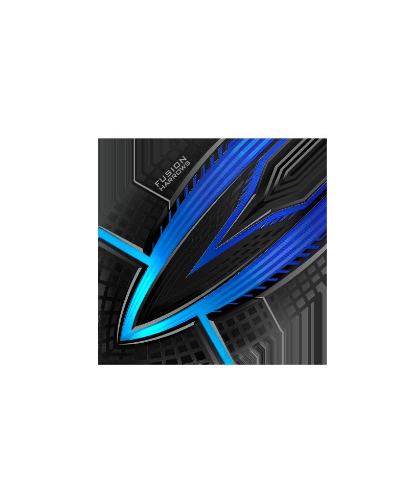 Aleta Harrows darts Fusion 4400 azul