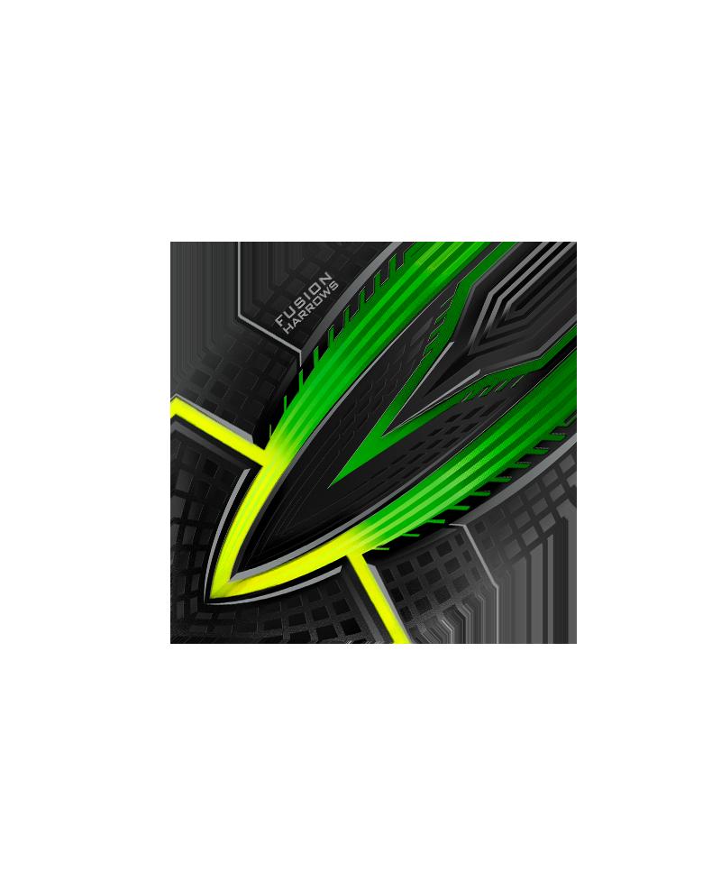 Aleta Harrows darts Fusion 4404 verde
