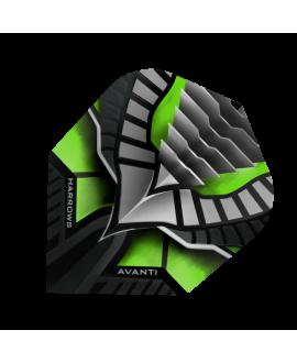 Aleta Harrows darts Avanti 7402 verde