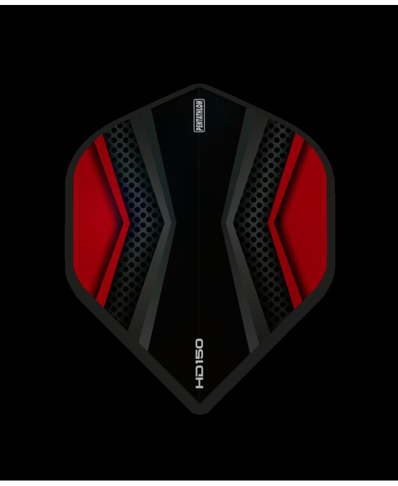Aleta Pentathlon HD150 color rojo 150 microns