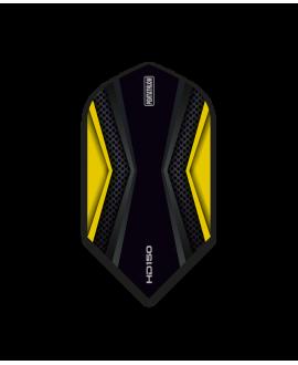 Aleta Pentathlon HD150 amarilla Slim 150 microns