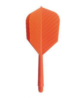 Aleta Supersonic 2BA naranja 3 unidades