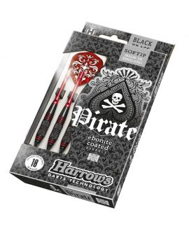 Dardos Harrows darts Pirate Rojo