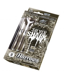 Dardos Harrows Silver Shark B