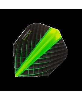 Harrows darts Quantum 6800 flights green