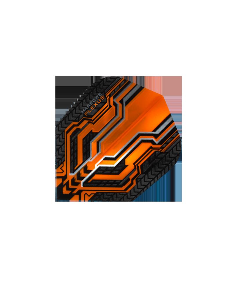 Aleta Harrows darts Plexus 8305 naranja