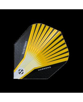 Harrows darts Flights Prime 7500 yellow