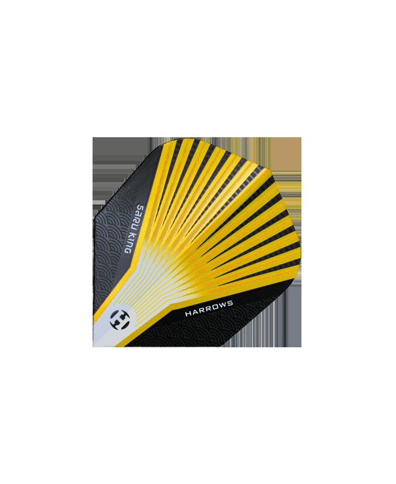 Aleta Harrows darts Prime 7500 amarilla