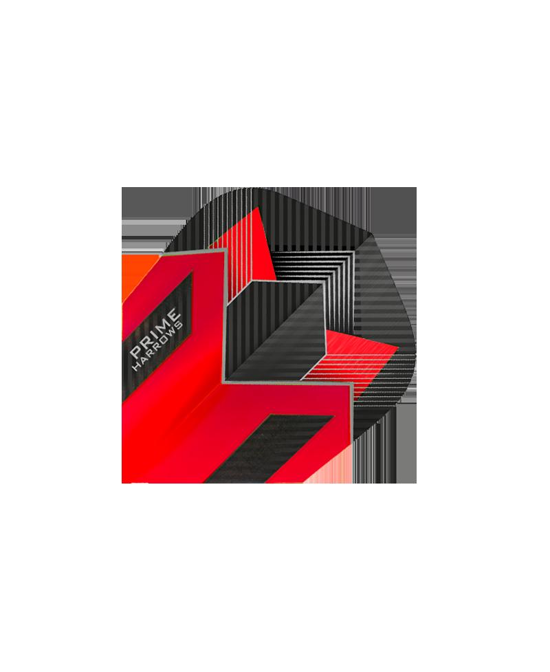 Aletas Harrows darts Prime 7509 roja