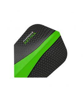 Harrows darts flights Retina 5508 verde