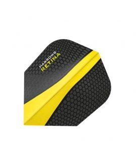 Harrows darts flights Retina 5509 amarilla