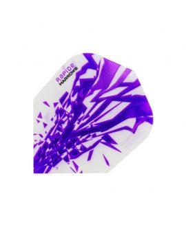 Harrows darts flights rapide 2500 purple