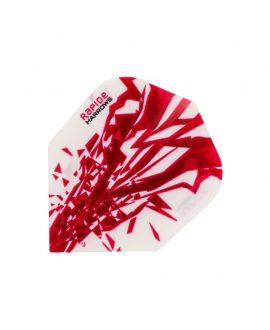 Aletas Harrows darts Rapide 2501 roja