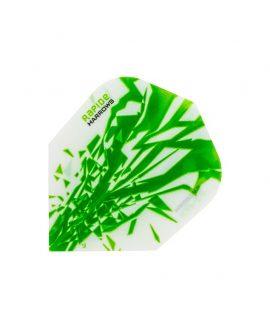 Aletas Harrows darts Rapide 2503 verde
