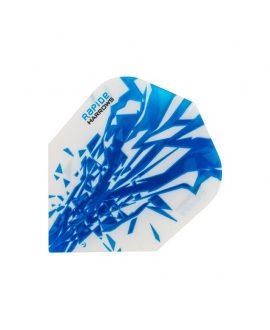 Aletas Harrows darts Rapide 2504 azul