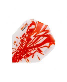 Aletas Harrows darts Rapide 2505 naranja