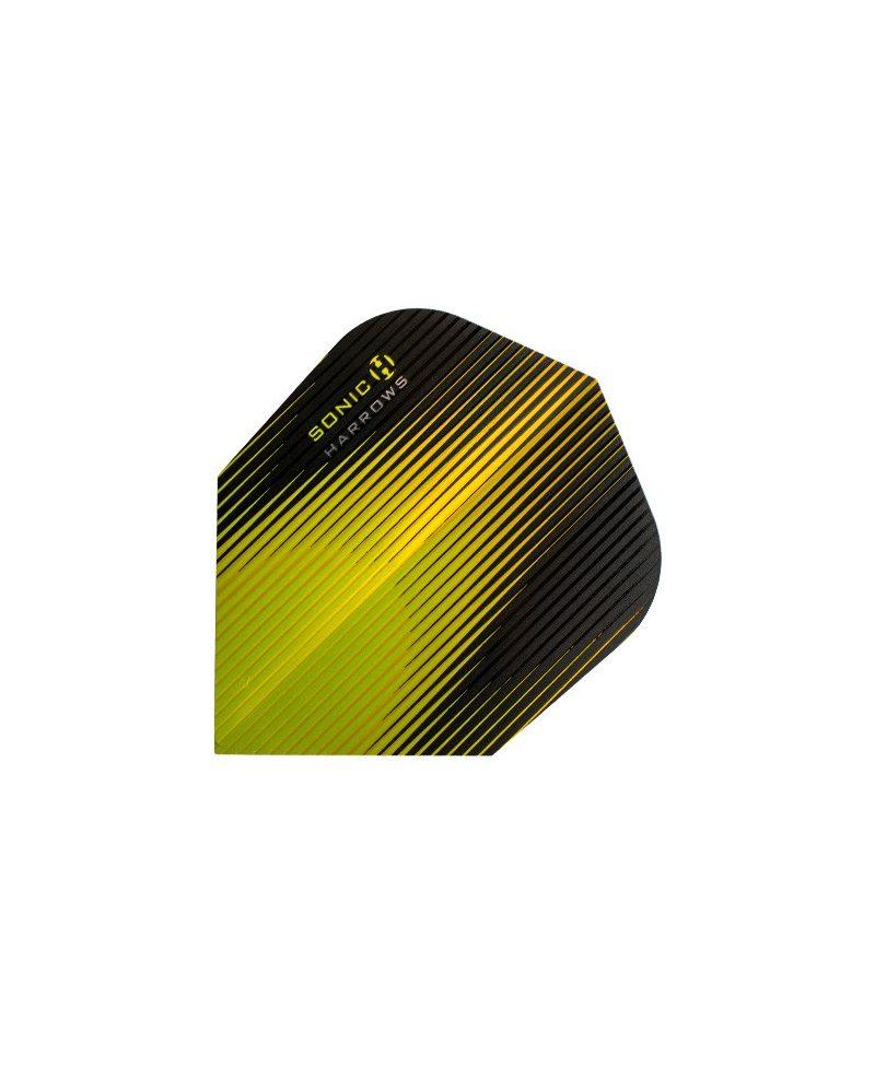 Aletas Harrows darts Sonic 6504 amarilla